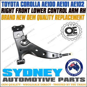 OE QUALITY for Toyota Corolla AE100 AE101 AE102 Front Lower Control Arm RIGHT RH