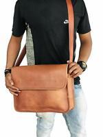 Genuine Vintage Dashing Leather Messenger Satchel Laptop Shoulder New Men Bag