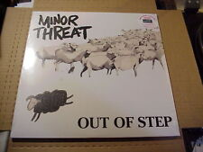 LP:  MINOR THREAT - Out Of Step SEALED NEW REMASTERED REISSUE + digital download
