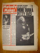 MELODY MAKER 1977 MAY 28 TOM PETTY TELEVISION BLONDIE