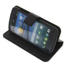 Tasche für Acer Liquid E700 Book-Style Schutz Hülle Handytasche Buch Schwarz