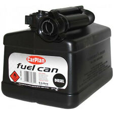 CarPlan Diesel Fuel Jerry Can Tetracan Garage Workshop Black Spout 5 Litre