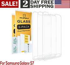 Samsung Galaxy S7 Active Screen Protector Tempered Glass Crystal Clear 3-Pack