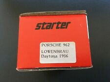 STARTER Voiture Miniature Collection Porsche 962 Lowenbrau Daytona 1986