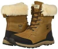 NEW Authentic UGG Women's Shoes Waterproof Adirondack III Snow Boots Chestnut