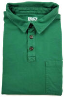 Duluth Trading Co. Longtail T Polo Shirt XL Mens Short Sleeve Green Men Size Sz