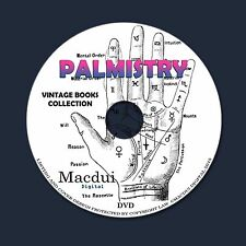 Palmistry, Cheirosophy, Chiromancy, Hand reading, Perin's 24 PDF EBooks on 1 DVD