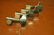 Fender Lyte P Jazz Bass Guitar Tuners Japan Gold Luthier Parts Project WOW