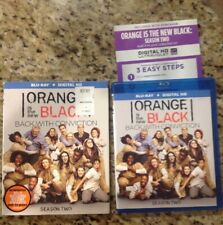 Orange Is the New Black: Season 2 Two (Blu-ray Disc,2015,3-Disc Set)Authentic US