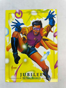 SINGLE CHASE CARD: Marvel Masterpieces 1992 LOST LADIES #LM-5 Jubilee