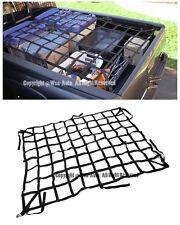 For 05-15 Toyota Tacoma Heavy Duty Long Bed Cargo Net Black Durable Nylon