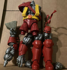 MARVEL LEGENDS X-MEN AOA AGE OF APOCALYPSE COLOSSUS BAF COMPLETE + Rock Chunk