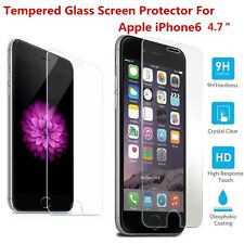 Premium Clear Tempered Glass Screen Protector Film Guard for iPhone 6 6S 4.7""
