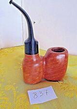 Pipa OOM PAUL  in radica toscana fiammata con bocchino floc