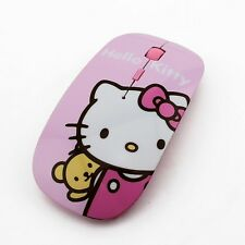 Hello Kitty Ultra Thin 2.4GHz Wireless Mouse 1600DPI Optical Gaming Mouse