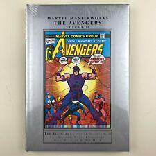 Marvel Masterworks, Avengers #11, New, Unread, Factory Sealed, HC, 101-111