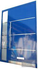 Front door - aluminium Schueco - RAL 5010 or any RAL, triple glazed, 5 pont lock