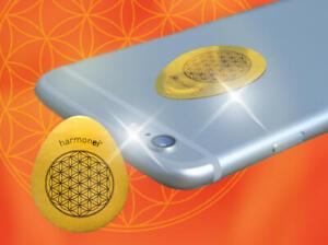 Handyschutz Harmonei gegen Elektrosmog Abschirmung Elektrostress 30 x 37mm 5G