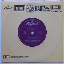 THE NOBODYS-No Guarantees/Ten Thousand Moments-1984-Capitol CP-1349 OZ pr RARE