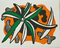 """Fernand Leger """"Flowers """" Original Lithograph 1971 Mourlot 2nd Ed Mint Condition"""