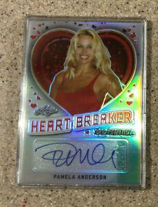 2018 Leaf Pop Century Heartbreaker Pamela Anderson Autograph Auto Card