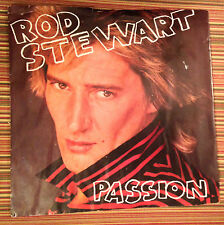 Rod Stewart (Ps/45rpm) Passion/Better Off Dead (1980 Wea Records, Bv) (Vg+)