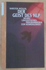 Der Geist des NLP - Karsten Ritschl 1999 Kommunikation Lebensführung Buch