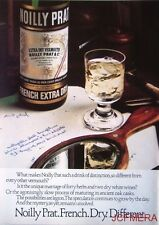 1980 NOILLY PRAT 'French Extra Dry' Vermouth Advert #2 - Original Print AD