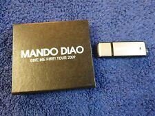 Mando Diao Promo USB stick Give Me Fire Tour 2009 Berlin in small box