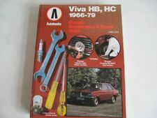 VAUXHALL VIVA 1966 to 1979 Firenza Magnum Viva HB HC  Car Repair Manual