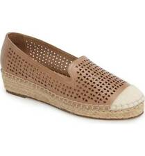 Bella Vita Saddle Leather Channing Cutout Espadrille Loafer Extra Wide Size 11