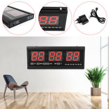 7903433f99c7 LED Reloj de Pared Digital con Temperatura de Fecha reloj de pared sala de  estar