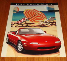 Original 1996 Mazda MX-5 Miata Roadster Sales Brochure