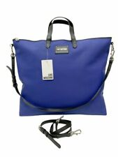 Love Moschino Bolsa de Carpeta Mochila Color Azul Nwt 00008