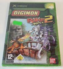 DIGIMON RUMBLE 2 XBOX PAL EURO ESPAÑA NUEVO PRECINTADO NEW SEALED MINT RARE RAR
