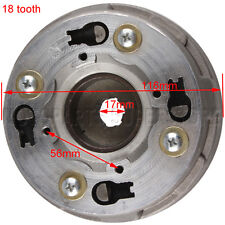 18 Teeth Clutch Auto for 50cc 70cc 90cc 110cc 125cc Dirt Bike Go Kart ATV