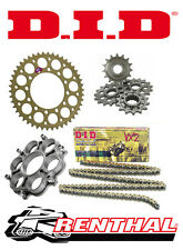 Renthal / DID Chain & Sprocket Kit with Carrier Ducati Hypermotard 1100 07-09