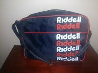 Vintage Riddell Travel Duffel Bag -  Airline Textile Mfg. - Great Condition