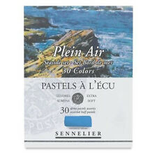 Sennelier Soft Demi Pastel Box Set. Professional Artists Pastels - 30 Seaside