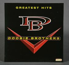Doobie Brothers Greatest Hits Rare Promo Poster 2-Sided 1996 Promo Flat 12x12