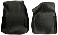 Husky Liners Front Floor Liners - Black for 00-07 F250 / F350 - 33851