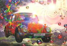 VW / VOLKSWAGEN KÄFER BEETLE POSTER TRIP 1 PSYCHEDELIC LSD PILZ