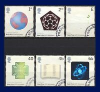 2001 SG2232-2237 2nd-65p Nobel Prizes Set (6) Very Fine Used CV-FU £8 agcz