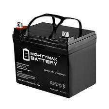 Mighty Max U1 12V 35Ah Yamaha Rhino Utility Vehicle UTV Battery
