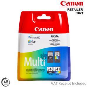 Genuine Canon PG540 / CL541 Black & Colour Ink Cartridge Multipack (5225B006)