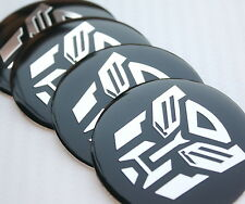56mm Transformers autobot Wheel Center Hub Cap Emblem Badge Decal Symbol Sticker
