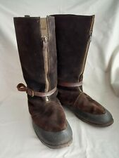 More details for original ww2 raf, 1941 pattern flying boots. 'bomber boots'