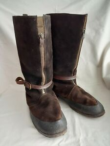ORIGINAL WW2 RAF, 1941 PATTERN FLYING BOOTS. 'BOMBER BOOTS'