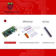Original Raspberry pi Zero V1.3 Camera Connector Pi0 Board+Official Case