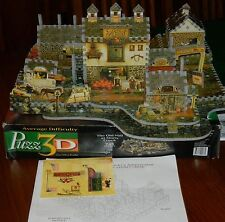 3-D PUZZLE THE OLD MILL AT STONY CREEK BY MILTON BRADLEY